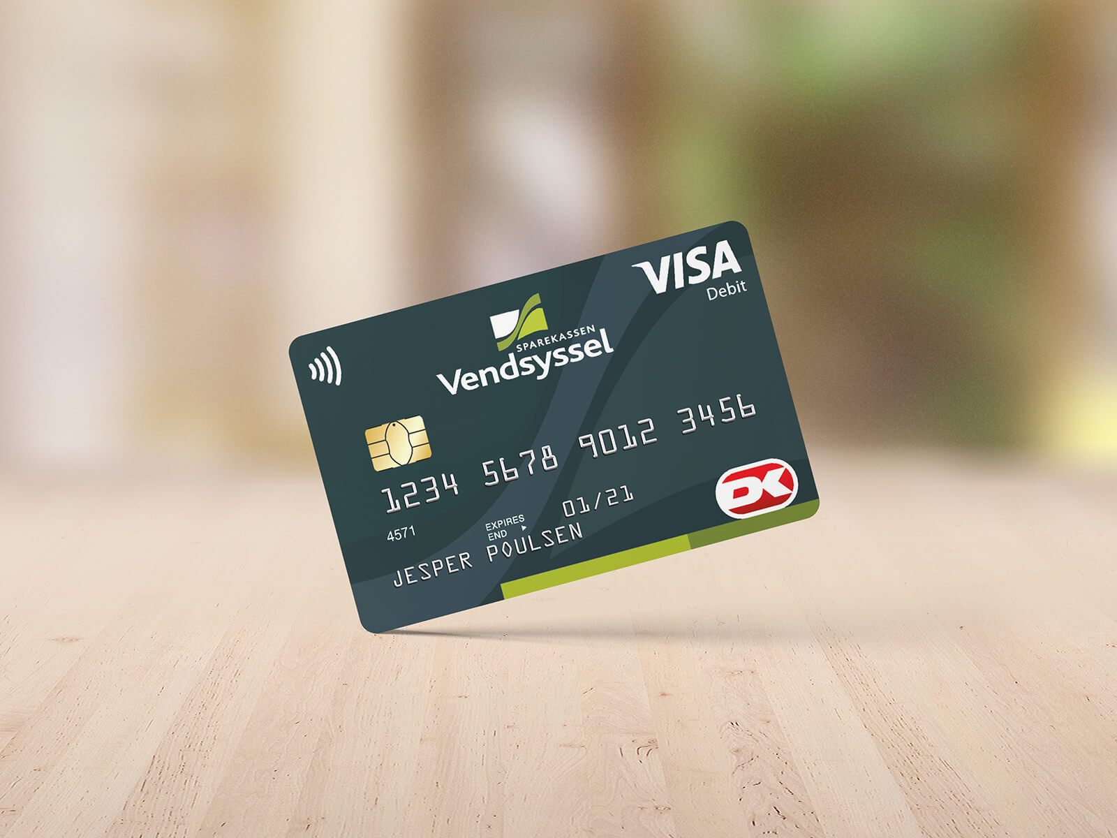 Visa Dankort Sparekassen Vendsyssel